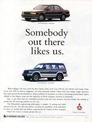 1992 Mitsubishi TR Magna Sedan & Pajero V20 Wagon Aussie Original Magazine Advertisement (Darren Marlow) Tags: 1 2 9 19 92 1992 t r tr m mitsubishi magna ssedan p pajero w wagon v 20 v20 c car cool collectible collectors classic a automobile vehicle j jap japan japanese asian 90s