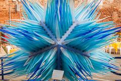 glass star (filipmije) Tags: murano venice glass color blue art statue publicart