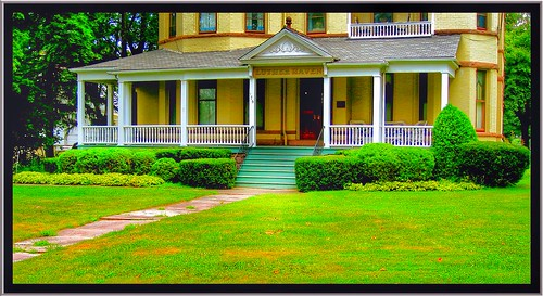 Lockport NY ~ Thomas Oliver House ~ aka ~ Luther Haven - HIstoric Mansion