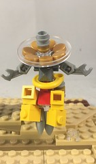 LEGO  Overwatch  zenyatta (Syntheticmason 1) Tags: lego overwatch zenyatta