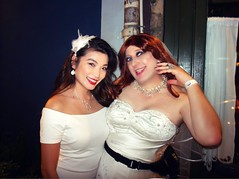 two honey's (MaryAnn Ginger) Tags: bridal wedding bar crawl tranny tgirl sissy crossdress crossx trans