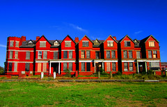 (SociétéRoyale) Tags: abandoned southport pontins house hotel red brick victorian desolate sun grass hot ainsdale derelict merseyside old