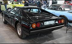 Ferrari 208 GTB / VI-640193 (baffalie) Tags: auto voiture ancienne vintage classic old car coche retro expo italia sport automobile racing motor show collection club italie verone fiera course race circuit