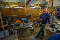 Call the midwife...... (Dafydd Penguin) Tags: solent xod design boat boating sailboat sail sailing royal yacht club yachting racing rorc isle wight boatyard shipyard ship yard whittle marine water sea leica m10 elmarit 21mm f28 man tea people candid