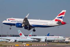 British Airways - Airbus A320-251NEO G-TTND @ London Heathrow (Shaun Grist) Tags: gttnd ba airbus a320 neo landing 27l shaungrist lhr egll britishairways speedbird london londonheathrow heathrow airport aircraft aviation aeroplanes airline avgeek