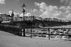 Tenby Harbour B&W