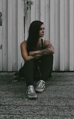 Vivi (karcok) Tags: vsco vscohungary portrait photoshoot inked tattoo streetphoto urbanstyle