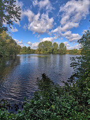 LangfordLakesNo30 - Copy (iankellybn26dj) Tags: uk england wiltshire landscape water waterside trees light sky foliage clouds