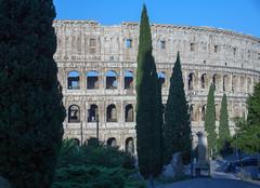 Roman Colosseum ... Le Colisée (Bob (sideshow015)) Tags: roman rome italy nikon historical travel roma colloseum colisée italie 7100