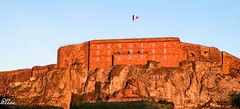 Great colors (-Polo-) Tags: sun sunset france belfort fort lion weather colors atmosphere