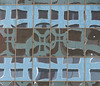 A16760 / hue-shifted highrise reflecting (janeland) Tags: sanjose california 95113 february 2018 abstract architecture reflections hueshift selectivedesaturation pe0 cropped teal blue