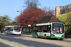 MK63 WZY, Station Road, York, April 4th 2017 (Southsea_Matt) Tags: mk63wzy route21 alexanderdeniis enviro200 adl e200 connexionsbuses stationroad april 2017 spring unitedkingdom england yorkshire york canon 80d sigma 1850mm bus omnibus publictransport passengertravel