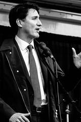 Justin Trudeau in Windsor (j. Verspeelt) Tags: windsor ontario canada justintrudeau trudeau fuji