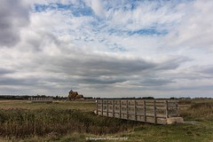 St. Thomas à Becket (frattonparker) Tags: btonner lightroom6 nikond810 raw tamron28300mm frattonparker church marshes romneymarsh bridge sheep sky clouds cirrus cumulus cirrocumulus altocumulus stratocumulus stratus ditch