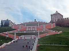 Нижний Новгород (lvv1937) Tags: лестница памятник нижнийновгород inexplore city landscape citylandscape мыизяфа exploré 6000viewsunlimited6000