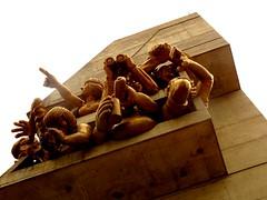 The audience - Baseball fan Gargoyles (Trinimusic2008 -blessings) Tags: trinimusic2008 judymeikle urban gargoyles rogerscentre theaudience october 2018 photoshootwithgail toronto to ontario canada michaelsnow baseballfans baseballfangargoyles theskydome sonydschx80 20118 fall outdoors sculptures torontobluejays bluejays architecture sculpture art
