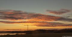 Sunset (NI5A6778LR-2) (pohjoma) Tags: iltarusko pilvet canonef24105mmf4lisusm canoneos5dmarkiv finland cloud autumn syksy landscape scenery lake field pilvi