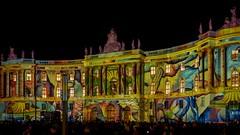 Festival of lights in Berlin (Ina Hain) Tags: berlinleuchtet humboldtuniversität fol berlin festivaloflights