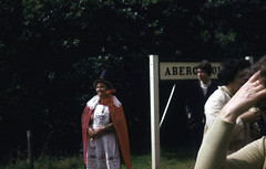 set 6 wet (foundin_a_attic) Tags: welsh wales costume abergynolwyn railway station dress national talyllyn tywyn narrowgauge mrsevans evans mrs hannah