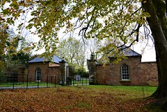 Autumn at Castle Coole. (carolinejohnston2) Tags: building gates leaves grass fence tree beech fermanagh ireland colours gatehouse estate