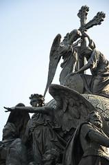 Monument en bronze (RarOiseau) Tags: velikynovgorod russie monument sculpture