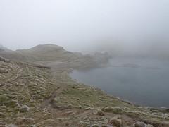 Köd ereszkedett a Bilea-tóra (ossian71) Tags: romania románia erdély transylvania kárpátok carpathians fogarasihavasok tájkép landscape természet nature ősz autumn köd fog