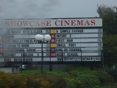Showcase Cinemas - Bentley Mill Way, Walsall (ell brown) Tags: walsall blackcountry westmidlands england unitedkingdom greatbritain tree trees car bentleymillway rain raining showcasecinemas sign