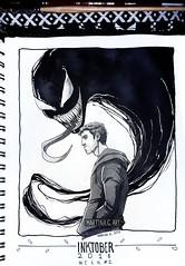 [Inktober Week #2: We are Venom] (Abigale Heron [COMMISSION CLOSED UNTIL NOVEMBER 10) Tags: abigaleheron abby inktober inktober2018 drawings comics illustration venom venom2018 marvel mcu eddiebrock