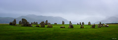 Stone Circle - (Helios 44-2, 58mm, f11) - 2018-10-03rd (colin.mair) Tags: castlerigg helios442 lakedistrict lens m42 manual russian ussr circle early f11 fog mist morning stones