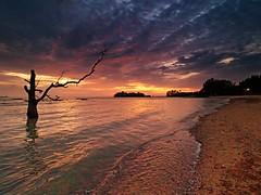 IMG_4179 ~ pantai senja (alongbc) Tags: sundown beach nature seascape shoreline coast cloud telukgong melaka malaysia travel place trip canon eos700d canonlens 10mm18mm wideangle