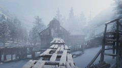 Old Mining Facility (nicksoptima) Tags: mining storm wilderness snow screenshot rockstar red dead redemption 2
