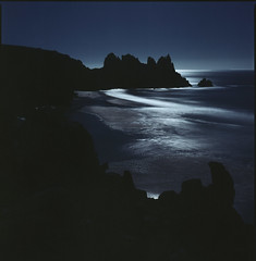 moonlight (steve-jack) Tags: hasselblad 501cm 80mm cb kodak ektar 100 pushed iso 3200 film 120 6x6 cornwall moonlight tetenal c41 kit epson v500