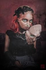 The real Red Queen...? (blackmages13) Tags: surreal photoshop conceptualportraits surrealportrait redqueen dark aliceinwonderland alice popsurrealism