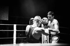 37806 - Face Off (Diego Rosato) Tags: face off nikon d700 24700mm tamron rawtherapee bianconero blackwhite 2470mm boxe boxing pugilato boxelatina ring match incontro