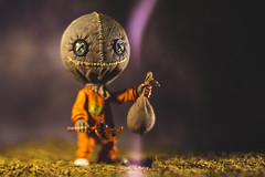 In the Bag (3rd-Rate Photography) Tags: sam trickrtreat halloween mezco toy toyphotography canon nikon freelens freelensing horror figure 3rdratephotography earlware 365