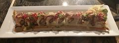 SPICY CRUNCHY RAINBOW ROLL AMAKARA DUBLIN CA. (ussiwojima) Tags: spicycrunchyrainbowroll sushi restaurant food breakfast lunch dinner dublin california