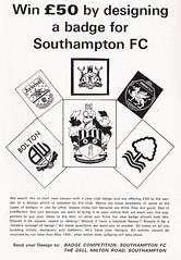 Southampton vs West Ham United - 1974 - Page 11 (The Sky Strikers) Tags: southampton west ham united football league division one the dell matchday magazine 7p