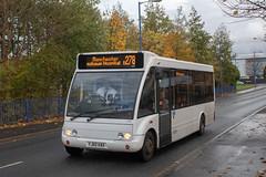 Diamond Bus NW YJ60KBX (Mike McNiven) Tags: diamond bus northwest optare solo slimline reddish holdsworthsquare manchester albertsquare sharston wythenshawe rotala