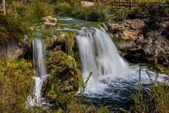 Waterfalls (Peideluo) Tags: water waterscape waterfalls ruidera nature landscape summer nikon longexposure cascada agua roca paisaje