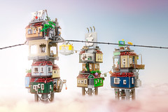 The Giap-Towers (MarcelV.) Tags: lego tower architecture chong fei giap turm sky
