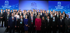 OECE_E_LEADERS_SEOUL_2018_07 (KOREA.NET - Official page of the Republic of Korea) Tags: oecd korea westinchosunhotel seoul oecdeleaders2018 행정안전부 한국 대한민국 서울 웨스틴조선호텔 중구