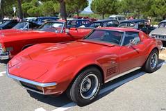 CHEVROLET Corvette C3 Stingray Coupé - 1969 (SASSAchris) Tags: chevrolet corvette coupé stingray c3 2 tours dhorloge castellet circuit ricard voiture américaine