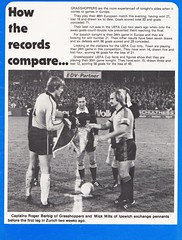 Ipswich Town vs Grasshoppers Zurich - 1979 - Page 5 (The Sky Strikers) Tags: ipswich town grasshopper club zurich grasshoppers uefa cup portman road official match day magazine 25p