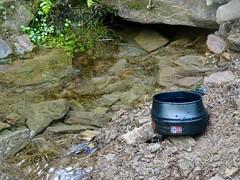 Cool, Clear Water, Blaen Bran, Upper Cwmbran 28 September 2018 (Cold War Warrior) Tags: mug spring water cwmbran blaenbran