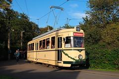 Tag des Abschieds (trainspotter64) Tags: strasenbahn streetcar tram tramway tranvia tramvaj tramwaje mülheim mvg düwag t4 nrw rheinland herbst