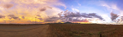 Ramona Grasslands Preserve Sunset Panorama (slworking2) Tags: ramona california unitedstates us sunset rural pasture meadow sky colorful