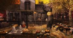 Dead and Breakfast... (kellytopaz) Tags: salem event prism ghost halloween fall autumn virtual living