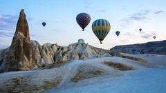 CAPPADOCIA Göreme National Park and the Rock Sites. World Heritage List. Turkey.  Hot Air Ballooning Cappadocia (Feridun F. Alkaya) Tags: greek byzantine byzantineempires nevşehir fairychimneys chimneys fairy church history archaeological archaeology arkeoloji tarihi zelve unescoworldheritagelist unesco heritage unc worldheritagelist rock canyon avanos rocksites erciyes kayseri derinkuyu kaymaklı ortahisar karain soganlı building cappadocia kapadokya ortahisarcastle people architecture monksvalley rocks roman göreme monastery zelveopenairmuseum grass animal landscape sky mountain mountainside field soil turkey ürgüp ngc anatolian sunset ancient anatolia hotairballon balon balloon hotairballoons havabalonu