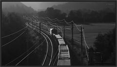 "Sunset Rails ("" Wiener Schule "") Tags: öbb oebb obb austria 1116 1016 taurus eisenbahn railway railroad"
