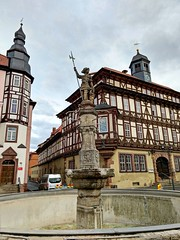 Vacha (cangaroojack) Tags: vacha thüringen deutschland wartburgkreis werra stadt altstadt thuringia germany german town old small
